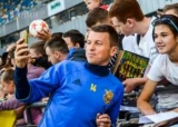 Футбол: Руслан Ротань сыграл сотый матч за сборную Украины