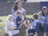 Кейт Миддлтон с детьми посетили турнир по поло